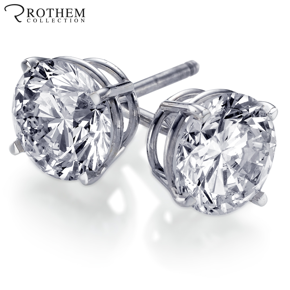 Carat Diamond Earrings Worth