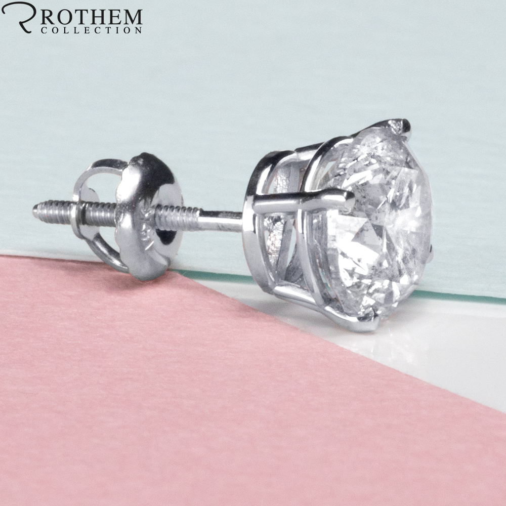 Single Diamond Stud Earring For Men